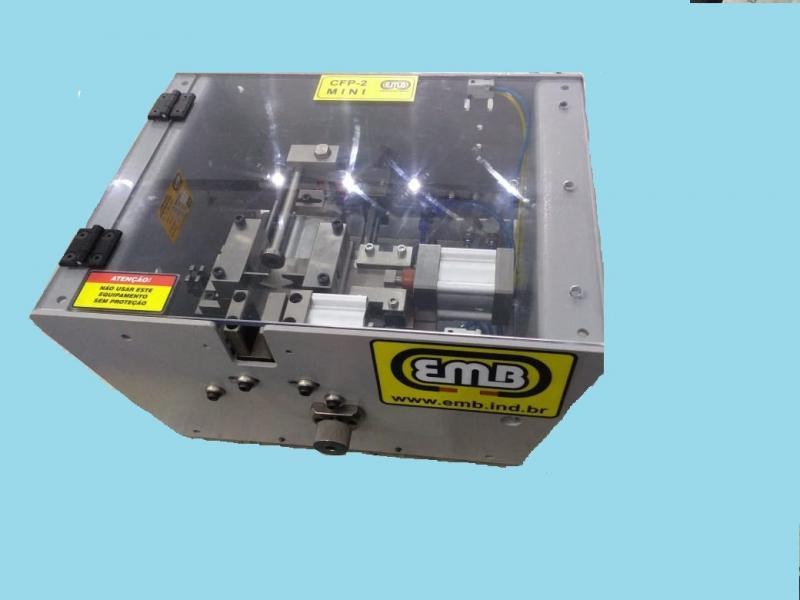 Máquina de corte de mangueira