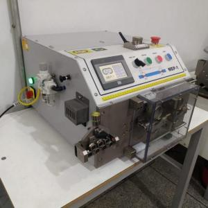 Máquina de medir e cortar fios elétricos